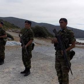 ΑΓΕΣ: Ο Στρατός και η Εθνοφυλακή εξασφαλίζουν την εδαφική μαςακεραιότητα