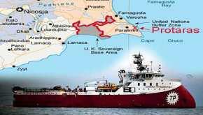 Το Barbaros μοιράζει… φυλλάδια σε Κύπριους ψαράδες – Δείτεγιατί
