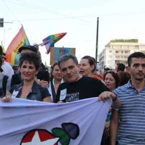 Η χώρα εκπέμπει SOS: Gay Pride 2017 με Τσακαλώτο, Καρανίκα, Φίλη στην πρώτη γραμμή του πυρός και συνέντευξηΑ.Τσίπρα