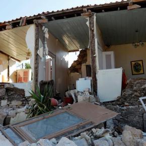 Εκτακτο: Νέος ισχυρός σεισμός 5,2 ρίχτερ νότια τηςΛέσβου