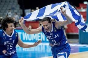 Μάλτση: «Να πεθάνω στο γήπεδο με το εθνόσημο στο στήθος»- Στα «ουράνια» οι Ελληνίδες παίκτριες (φωτό,βίντεο)