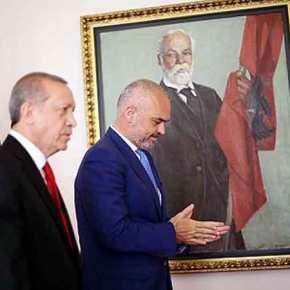 """Ο Ερντογάν """"βάζει πάγο"""" στην """"Μεγάλη Αλβανία"""" φοβούμενος τοΚουρδιστάν!"""