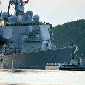 Μαύρη ημέρα για τις ΗΠΑ: Νεκροί όλοι οι αγνοούμενοι ναύτες του USS Fitzgerald στο μεγαλύτερο ναυτικό φιάσκο της«Υπερδύναμης»
