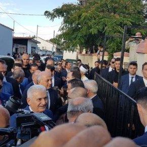 Στην «τουρκική Νεολαία Κομοτηνής» η σύζυγος του Τούρκου πρωθυπουργού(φωτό)