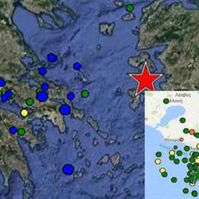 Λέσβος: «Μετασεισμός» 4,4 Ρίχτερ – Φόβοι πως ο κύριος σεισμός δεν έχει ξεσπάσει(φωτό)