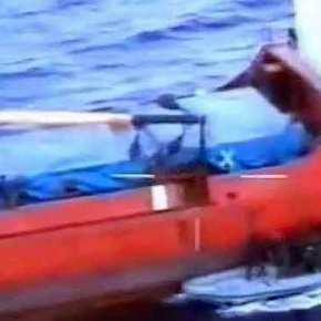"""Ρεσάλτο σε πλοίο από τα """"βατράχια"""" του Λιμενικού Σώματος!ΒΙΝΤΕΟ"""