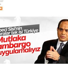 Ο πρόεδρος της Αιγύπτου προτείνει οικονομικές κυρώσεις στηνΤουρκία