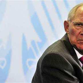 """""""Ο Σόϊμπλε μόνος εναντίον όλων για την Ελλάδα"""" γράφει ηWelt!"""