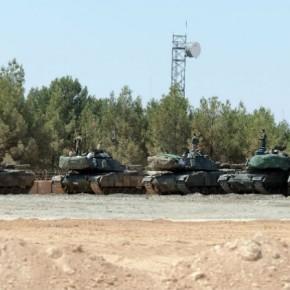 ΕΚΤΑΚΤΟ: Μεγάλες δυνάμεις του τουρκικού Στρατού εισέβαλαν στηνΣυρία