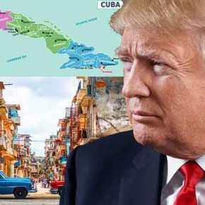 ΗΠΑ – Κούβα: Στα βήματα του Ομπάμα οΤραμπ
