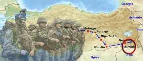 Χτύπησαν διάλυση οι Τούρκοι στο Σιρνάκ …Κούρδοι χτύπησαν την διοίκηση του Τάγματος των Καταδρομών!