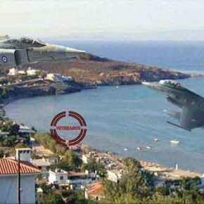 Για μια ολόκληρη ώρα…Μισή ντουζίνα Τούρκικα πετούσαν πάνω από τα νησιά μας! Καμιά εντολήΚατάρριψις!