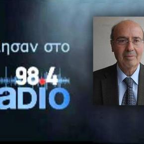 Μανούσος Παραγιουδάκης : Αν πέσει η Κύπρος κινδυνεύει και ηΕλλάδα