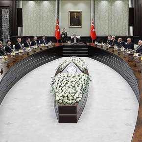 Το συμβούλιο εθνικής ασφάλειας της Τουρκίας απειλεί την Κύπρο: «Θα δείξουμε αποφασιστικότητα στο θέμα τουφ/α»