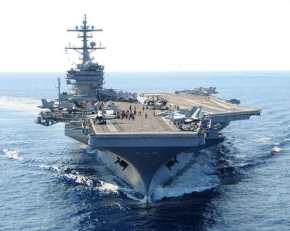 """Οι ΗΠΑ στέλνουν το αεροπλανοφόρο Τζορτζ Μπους στο """"Οικόπεδο11"""""""