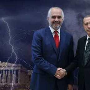 Σε «τουρκικό» κλοιό η χώρα: Ο Ερντογάν στηρίζει οικονομικά τον Ράμα στην κατασκευή αεροδρομίου στον Αυλώνα και πολιτικά το σχέδιο της «Μεγάλης Αλβανίας» σε βάρος τηςΕλλάδας