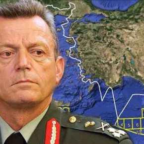 Ο Στρατηγός Λεοντάρης σε πλοίο στην Κυπριακή ΑΟΖ –ΒΙΝΤΕΟ