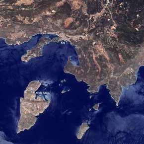 Στη δημοσιότητα φωτογραφία του Καστελόριζου από τουρκικό κατασκοπευτικόδορυφόρο