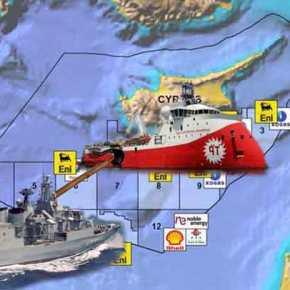 Κύπρος: Μπαινοβγαίνει στην κυπριακή ΑΟΖ το Barbaros – Υπό το βλέμμα των Γάλλων το WestCapella