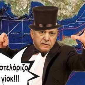 Τύμπανα πολέμου: Εξαφάνισαν το Καστελόριζο οι Τούρκοι και θεωρούν δική τους την ΑΟΖ μεταξύ Ρόδου καιΚύπρου