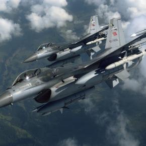 Μπαράζ παραβιάσεων – Τουρκικά F-16 πάνω απο ταΛέβιθα