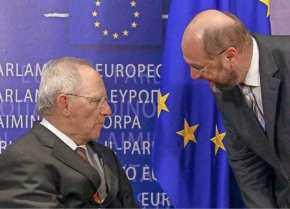 Σφοδρή επίθεση Μ.Σουλτς κατά Β.Σόϊμπλε: «Η Ελλάδα βυθίζεται στη φτώχεια και εσύ πλουτίζεις από τουςτόκους»