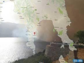 Λακωνία: Σε πύρινο κλοιό από το μεσημέρι- Καίγονται σπίτια στην Μάνη – Φωτιές σε Κεφαλονιά Βοιωτία Φθιώτιδα(βίντεο)