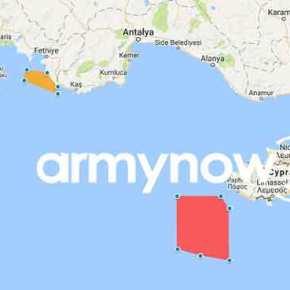 Έρευνες σε Κύπρο – πυρά σε Καστελλόριζο! Κλιμακώνει ηΆγκυρα!
