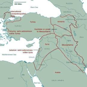 Νέοι χάρτες διαμελισμού της Τουρκίας – Μέχρι και ίδρυση ποντιακού κράτους περιλαμβάνεται! (βίντεο,εικόνες)