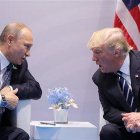 Σε εξέλιξη η πρώτη συνάντηση Τραμπ –Πούτιν