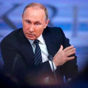 Ικανοποιημένος ο Πούτιν από την επικοινωνία του με τονΤραμπ