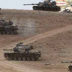 ΕΚΤΑΚΤΟ: Εισβολή του τουρκικού Στρατού στην Κομπάνι – Πολιορκείται η πόλη-σύμβολο τωνΚούρδων
