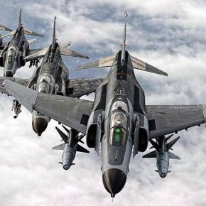 """Υπερπτήσεις τουρκικών F-4 στο Αιγαίο λόγω """"νευρικής κρίσης"""" στηνΆγκυρα"""