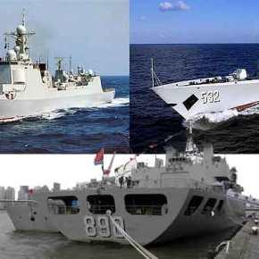 Αναχώρησαν τα πολεμικά πλοία της Κίνας από τον Πειραιά –VIDEO