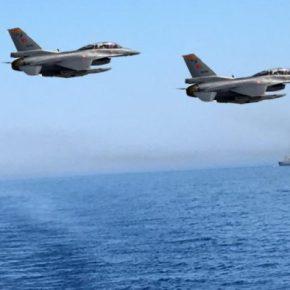 Η Άγκυρα προκαλεί – Η Πολεμική Αεροπορίααπαντά