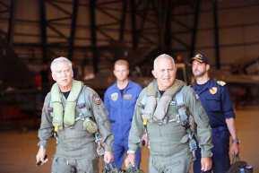 Το βίντεο από την πτήση των Αρχηγών ΓΕΕΘΑ και ΓΕΑ στοΚαστελόριζο