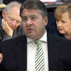 """""""Μέρκελ και Σόϊμπλε διέσπασαν την Ευρώπη"""", λέει οΓκάμπριελ"""