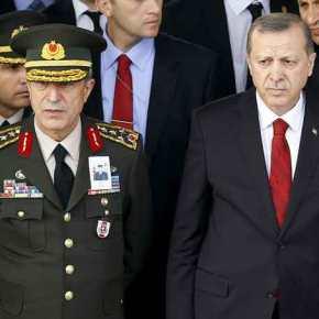 """""""Εμφύλιος πόλεμος στρατηγών"""" στην Τουρκία δείχνει πως το πραξικόπημα ήταν μόνο ηαρχή"""