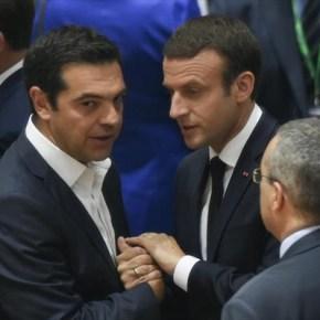 Η κυβέρνηση σε ρυθμούς Μακρόν και Τζεντιλόνι Μεγάλες προσδοκίες στο Μαξίμου από τις επισκέψεις του Γάλλου προέδρου και του Ιταλούπρωθυπουργού