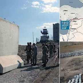 ΣΤΑ ΒΗΜΑΤΑ ΤΟΥ ΤΡΑΜΠ Η ΤΟΥΡΚΙΑ – Δείτε που και γιατί χτίζει υπερ- τείχος ο Ερντογάν(φώτο)