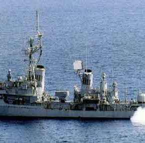 Σπάνιο βίντεο: Η βύθιση του παροπλισμένου Α/Τ «Νέαρχος» από το Πολεμικό Ναυτικό με MBDA MM-40 Block 2Exocet