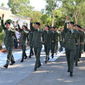 Τελετές ονομασίας των Δοκίμων Εφέδρων Αξιωματικών της 2017 Β΄/ ΕΣΣΟ –ΦΩΤΟ