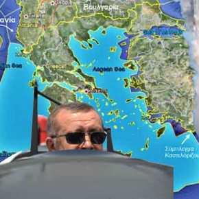 """""""Κρίση στο Αιγαίο με """"κατάρριψη"""" τουρκικού αεροσκάφους""""! Τα βρώμικα σχέδιαΕρντογάν"""
