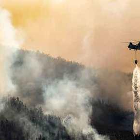 Ανεξέλεγκτη η φωτιά στα Κύθηρα: Πλησιάζει σπίτια, εκκενώθηκαν οικισμοί- Τα Ελληνικά «PZL» σβήνουν ακόμη τις αλβανικέςφωτιές…