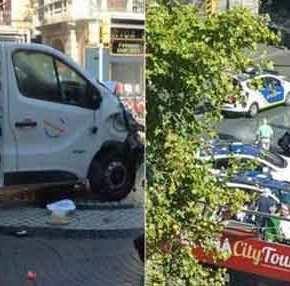 ΕΚΤΑΚΤΟ: Η αστυνομία σκότωσε τον Ισλαμιστή δράστη του μακελειού στην Λας Ράμπλας- Φορούσε ζώνη με εκρηκτικά!(φωτό)