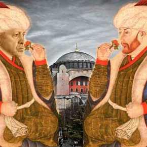 """""""Είναι δικαίωμά μας από τον Μωάμεθ τον Πορθητή να γίνει η Αγία Σοφίατζαμί"""""""
