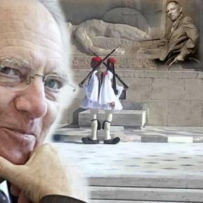 """Ο """"χιουμορίστας"""" Σόϊμπλε λέει ότι """"οι Έλληνες θα με κάνουν άγαλμα"""" λόγω…ευγνωμοσύνης"""