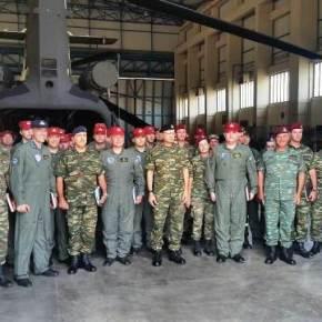 Επίσκεψη Αρχηγού ΓΕΣ στο 2ο Συγκρότημα ΑεροπορίαςΣτρατού