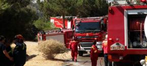 Επτά πυροσβεστικά οχήματα στέλνει η Ελλάδα στηνΑλβανία