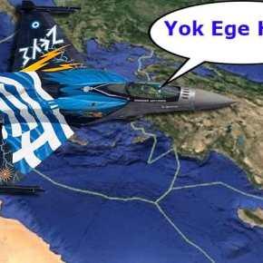 """Οι """"τσαμπουκάδες"""" του νέου αρχηγού της τουρκικής αεροπορίας στο Αιγαίο δενπερνάνε"""